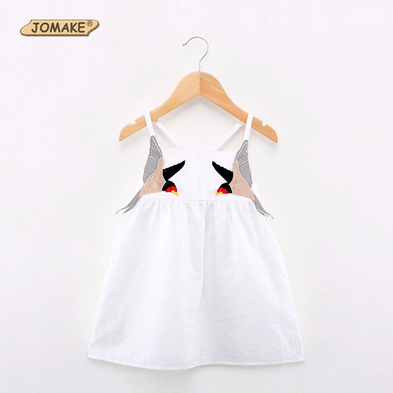 Baby Girl Dress Brand Summer Beach Style Little Devil Party Backless Dresses For Girls Clothes Cute Toddler Girl Clothing 2-7Yrs blue light 3 mode led flashing bootlaces shoelaces 4 x cr2016 pair