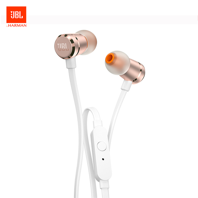 US $24 69 27% OFF|Aliexpress com : Buy JBL T290 In ear Earphone One Button  Remote With Microphone Sport Running Music Pure Bass Sound For Smartphone