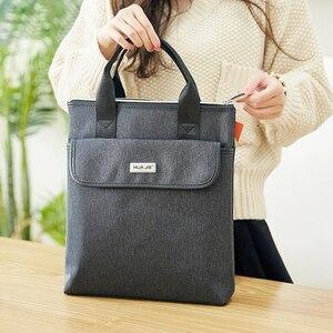 Image 2 - Przenośny prosty zamek finansowych walizka biznesowa aktówka papieru do przechowywania organizator produkty prezenty studenckie EN4314