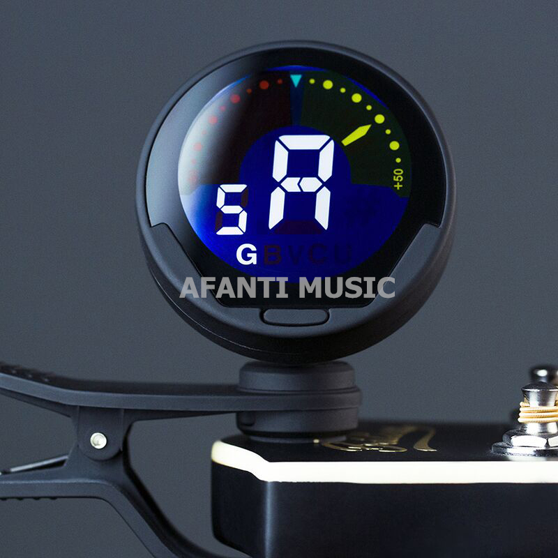 Afanti Music Acoustic Guitar / Violin / Ukulele Tuner (TUN-102) afanti music acoustic guitar violin ukulele tuner tun 102