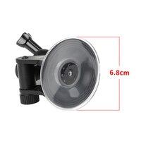 Съемка мини Экшн - камеры на присоске для GoPro Hero 8 7 5 черный SJCAM SJ7 Yi 4K H9 Go Pro 7 крепление оконное стекло присоска аксессуар 2
