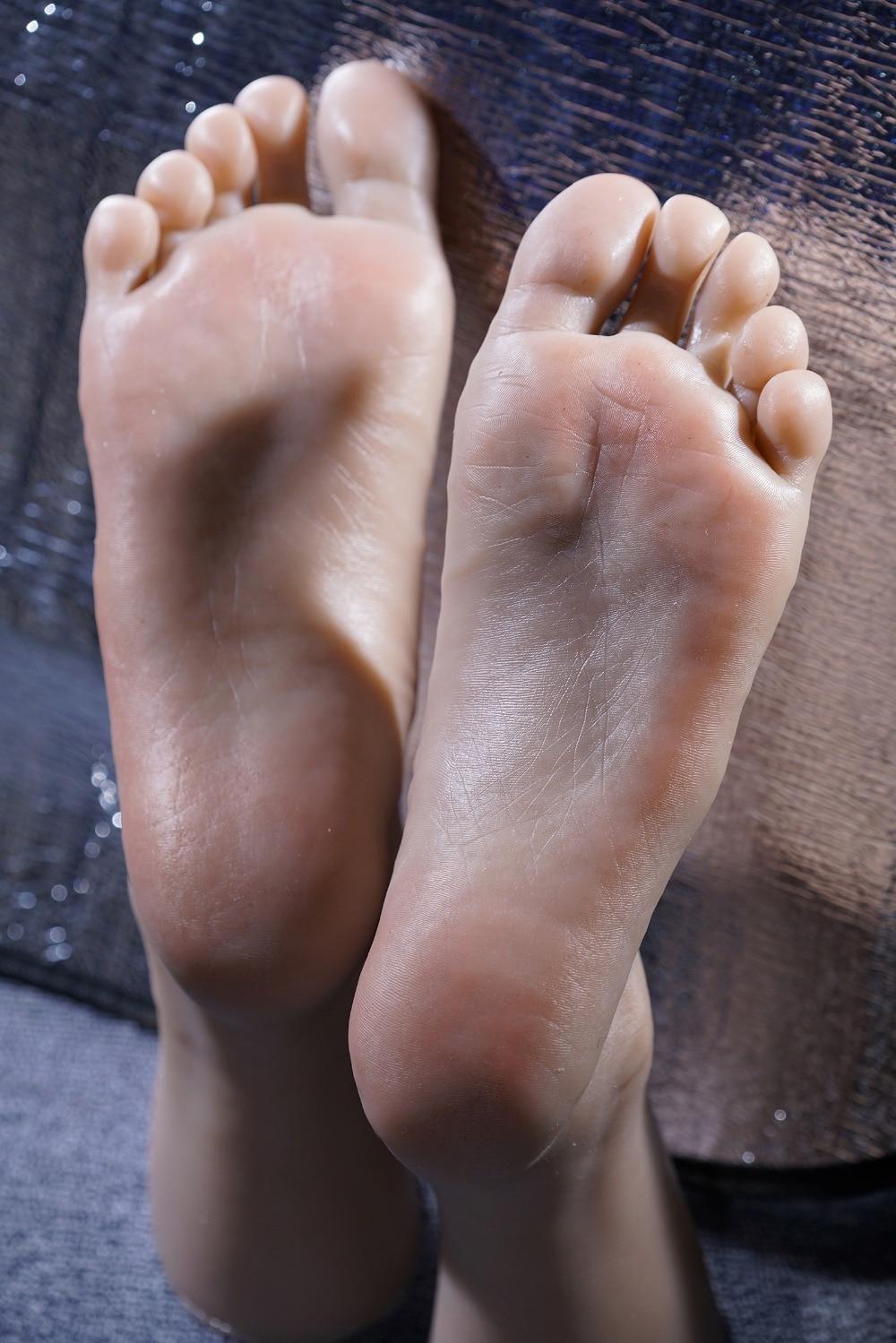 Newest 3D Tickling kiss font b sex b font male foot feet fetish sculpture model foot
