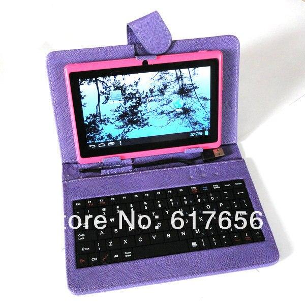 Leather Case +USB Keyboard + Film+ Stylus 10.1 inch Cube U30GT U30GT-H U30GT-W Romas W30 Tablet - He group accessories 1 shop store