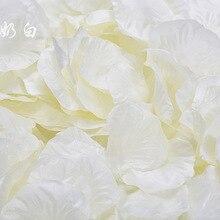 200 шт Реалистичная искусственная Шелковая Красная роза Лепестки украшения для свадебной вечеринки H1