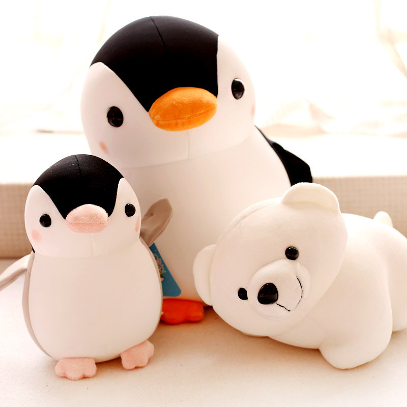 In the summer of 2015 nano foam particle doll Penguin doll polar bear font b plush