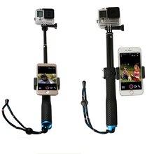 190mm-490mm High quality monopod Selfie stick for gopro4/ gopro3 /3+/2 SJ4000 Action camera self Selfie Sticks for Gopro sports