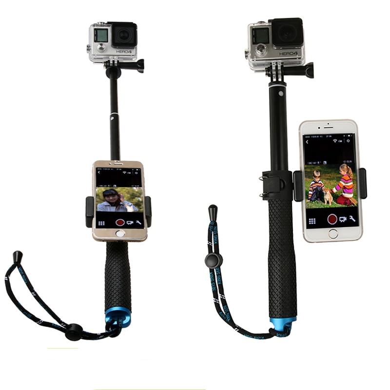 gopro accessories selfie sticks self handheld extendable pole monopod stick phone holder for. Black Bedroom Furniture Sets. Home Design Ideas