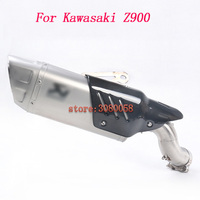 Motorcycle Exhaust Silencer Z900 Exhaust Muffler Full System Universal Muffler Pipe Exhaust For Kawasaki Z900 Slip on