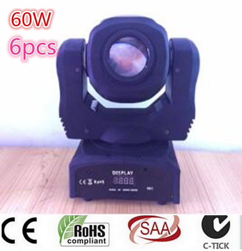 60W LED Spot Moving Head Light/USA Luminums LED lamp Light 60W gobo led moving head lights super bright LED DJ disco light 10w led moving head lights spot light 10w gobo lamps led dj disco lighting projector for bar wedding events moving head light