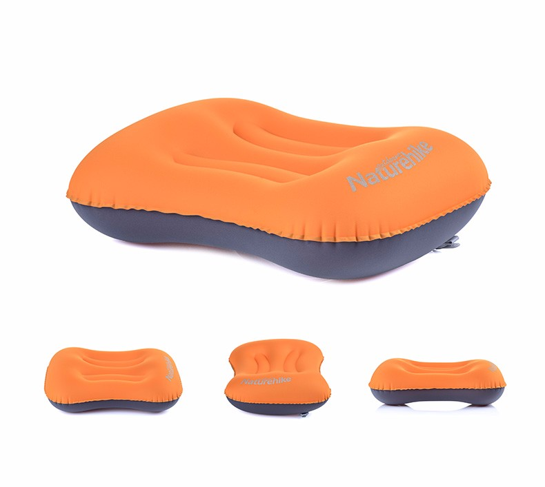 Naturehike наружная надувная подушка для путешествий надувная подушка мягкая защитная подушка для шеи подголовник с карманом