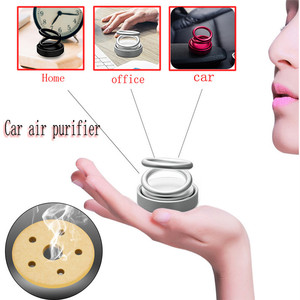 Image 5 - Car Double Ring Suspension Scented Perfume Double Ring 360° Rotating Suspension Car Creative Scent Car Air Fresher Car Sticker