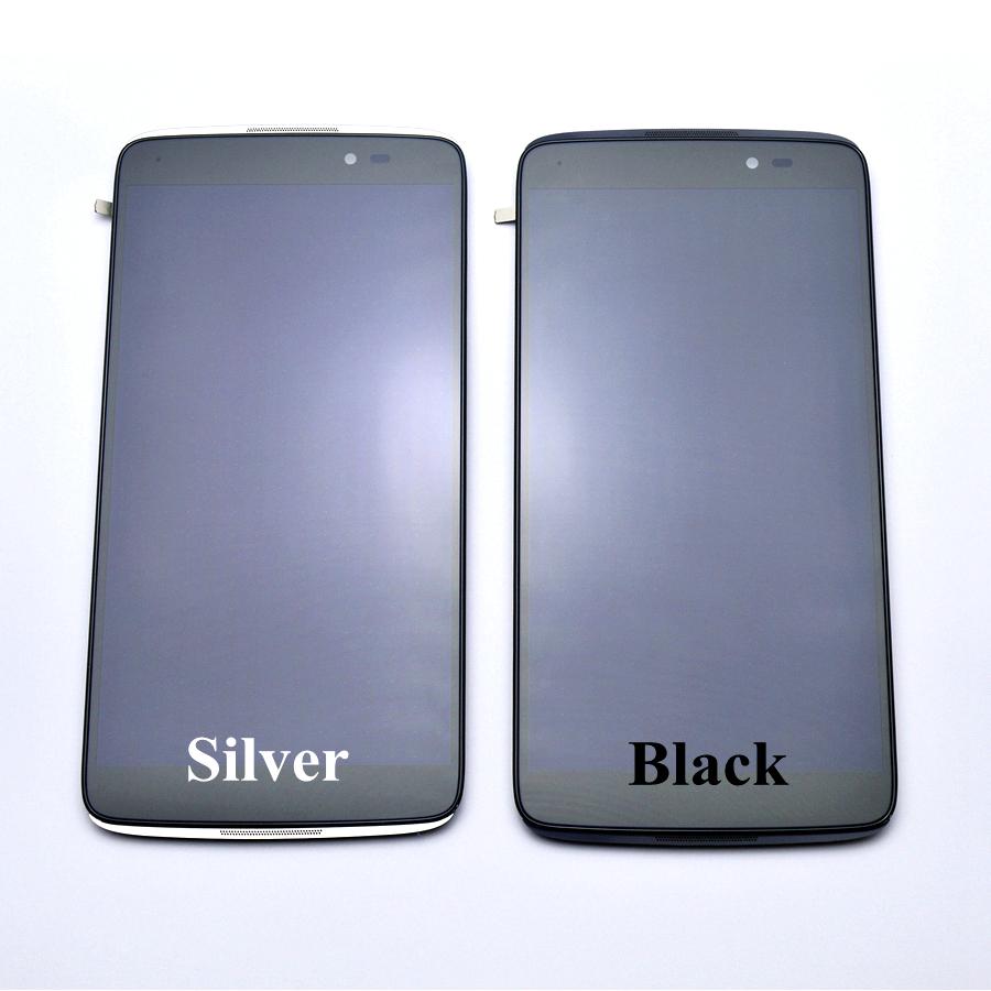 """Prix pour Pour Alcatel One Touch Idol 3 6045 OT6045 LCD Affichage à L'écran Tactile Digitizer Assemblée Avec Cadre Pièces De Rechange 5.5"""""""