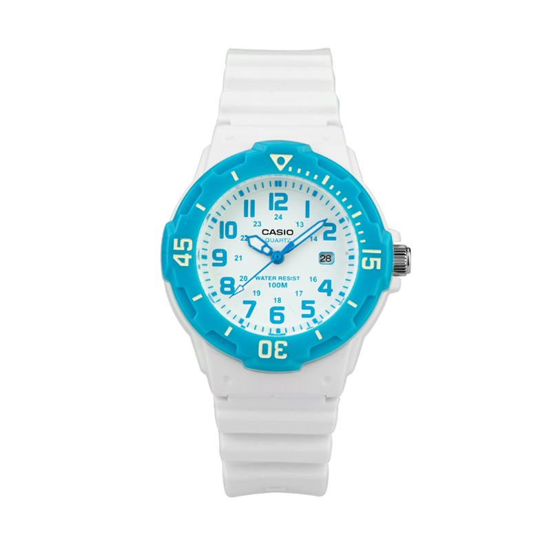 Casio Watch Sports Waterproof Simple Quartz Women's Student Watch LRW-200H-2B casio lrw 200h 7e2