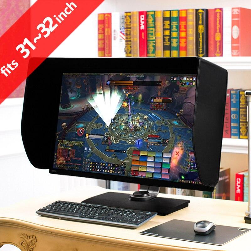 ILooker 32 P 31 pouce et 32 pouce Pro Édition LCD LED moniteur Capot Parasol Capote pour Dell HP Viewsonic Philips Samsung LG EIZO