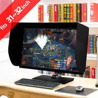 ILooker 32P 31 pouces & 32 pouces Pro édition LCD moniteur LED capot pare-soleil pour Dell HP Viewsonic Philips Samsung LG EIZO