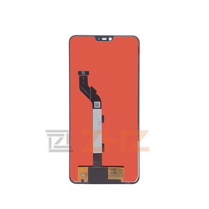Image 3 - For Xiaomi Mi 8 Lite lcd display touch screen Digitizer Assembly  with frame for mi 8 lite display repair parts