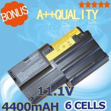 4400mAh 10.8v Laptop Battery For IBM ThinkPad T30 T30-2366 02K7034 02K7037 02K7038 02K7050 02K7051 02K7073  02K7072 6 cells