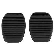 1 paar Auto Bremse Kupplung Pedal Gummi Pad für Fiat Doblo Albea Punto Palio Fiorino Kupplung Pedal Gummi Abdeckung