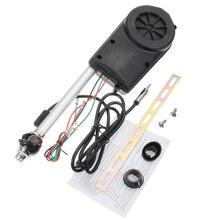 Автомобиль выдвижной антенна автомобильная антенна Антенна электрический радио Карро 12 В FM/AM автоматическая антенна Стайлинг Универсальный