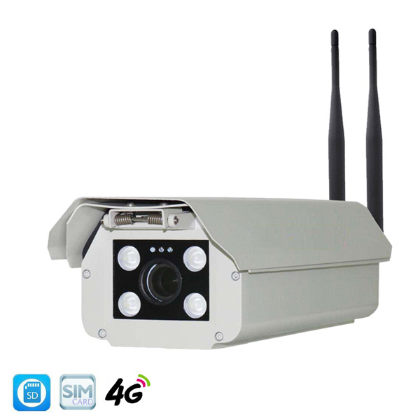 1080P 4g sim card housing cameras with dual antenna 4g wifi IP cameras P2P wireless outdoor