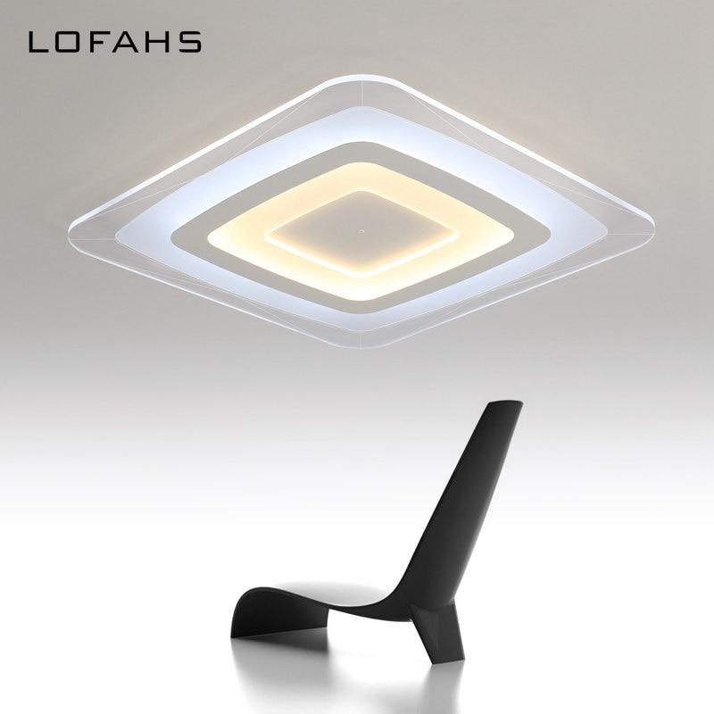 LOFAHS modern LED ceiling light living room lights acrylic decorative kitchen lamp lamparas de techo home lighting Wisdom House