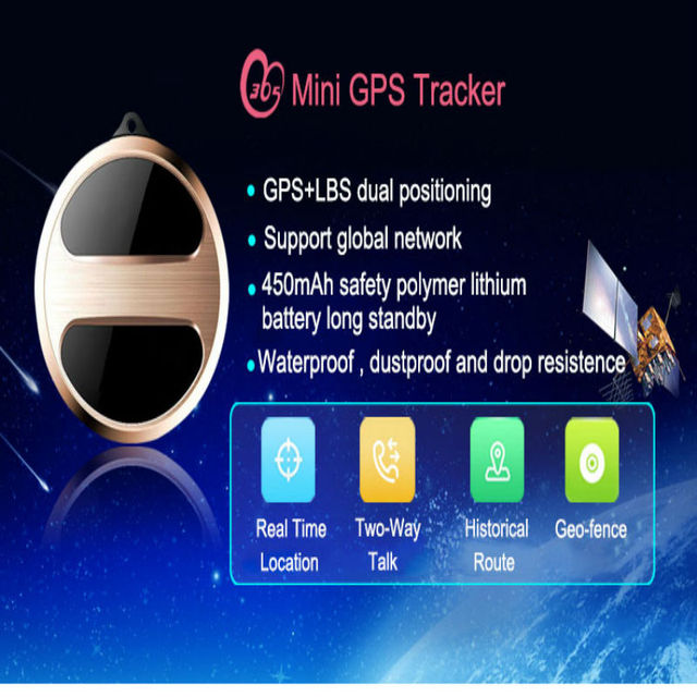 Mini Precise GPS Tracker Necklace support GPS LBS SOS history track positioning mini locator T8S For elder children pet cats dog