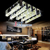 Z Modern Simplicity LED K9 Crystal Lights Bubble Crystal Column Lamp Living Room Crystal Ceiling Lights