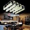 Z Modern Simplicity LED K9 Crystal Lights Bubble Crystal Column Lamp Living Room Crystal Ceiling Lights