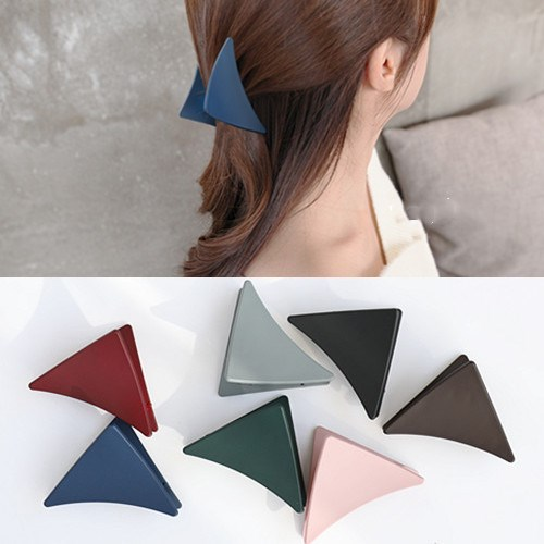 1PCS Fashion Elegant Women Acrylic Hairpins Colorful Geometric Hair Claw Clips Barrattes Hair Styling Accessories For Ladies