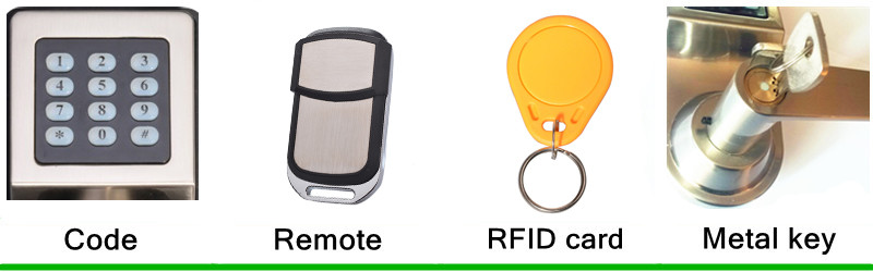 wireless remote locks