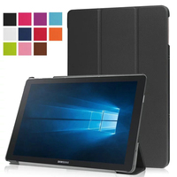 New Ultra Thin Slim Sleeve Magnetic Folio Stand Leather Case Smart Cover For Samsung Galaxy Tab