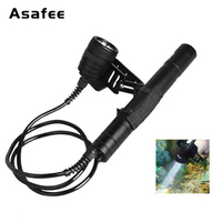 Asafee DIV09 Canister Diving Light CREE XM L2 LED Waterproof Scuba Torch 26650 Underwater Mergulho Lantern Light for Explore