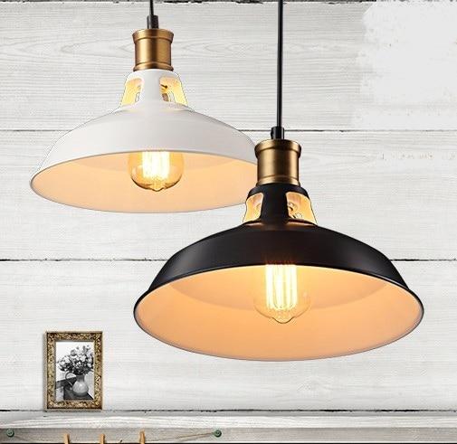 ᗕAmerican loft arte retro colgante lámparas industrial simple ...