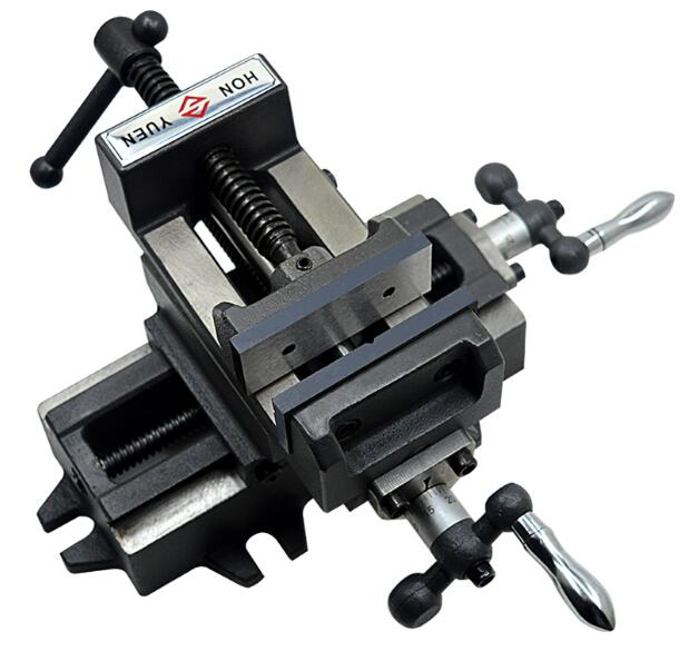Cross vise precision heavy mobile platform vise bench milling machine cross bench clamp 3 inches