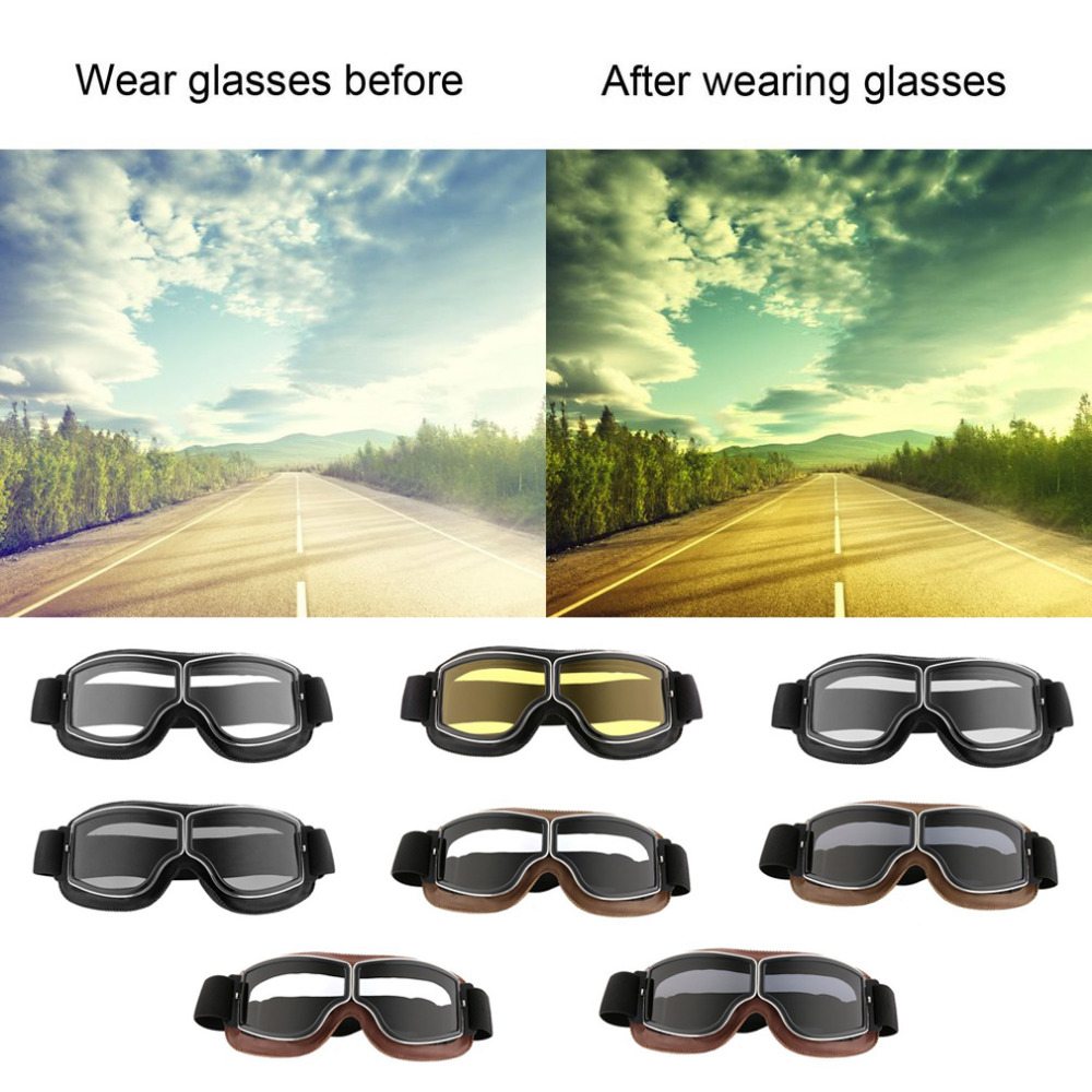 Motorcycle Goggles Bike Goggles UV400 Protective Outdoor Glasses Dust-proof Protective Combat Outdoor Tactical Goggles Top Sale