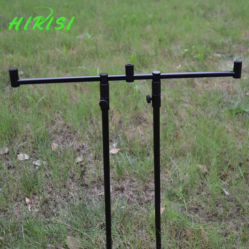 Hirisi new carp fishing rod pod set 2pcs fishing bank for Fishing rod set