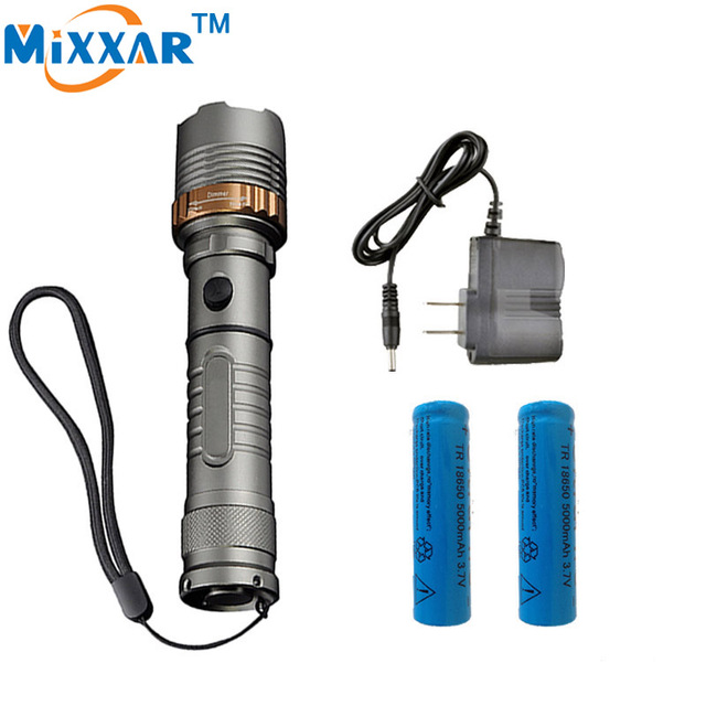 Zk30 Самообороны Cree XM-L T6 Светодиодный фонарик 4000LM светодиодный Фонарик лампы мощный LanternTactical фонари