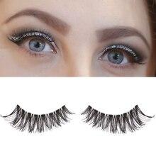 10Pairs False Eyelashes Extension make up natural Long fake eye Lashes Handmade Eye Makeup Beauty Tools