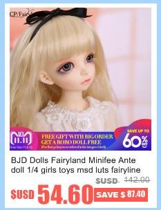 rendia rena fl bjd bonecas 1 4 doce moda fada nu brinquedos