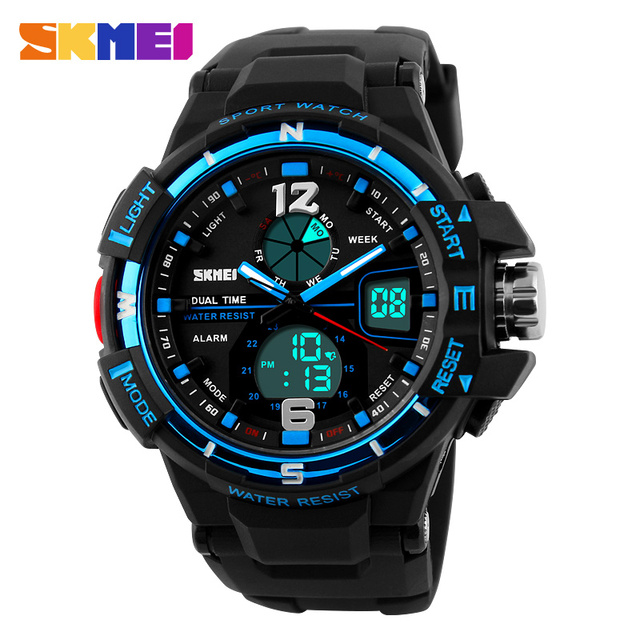 2016 SKMEI Men's LED Digital Watch Men Sports Watches Reloj Fashion Casual Relogio Masculino Clock Outdoor Military Wristwatches