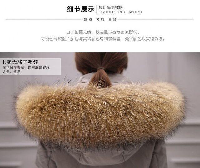Real Fur Collar Parkas...