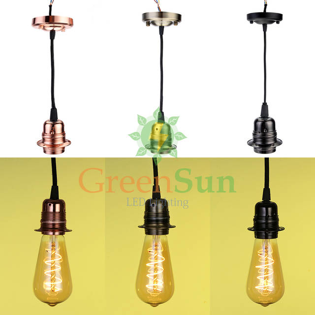 Greensun Rose Gold 5pcs E27 Retro