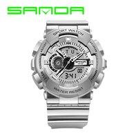 2017 SANDA Sports Watch Men Famous Brand Men S Digital Watch 30M Diving Military S Shock