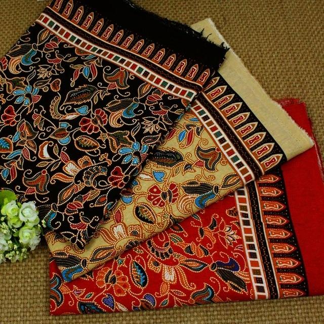 Aliexpress.com: Acheter 1 Mètre en tissu ethnique floral imprimé ...