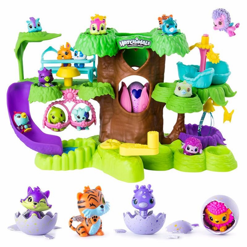 Hatchimals Eggs Cute Pets Mini Toys Bird's Nest Nursery Playset and 3pcs eggs toys for Kids Children Gift cute simulation wooden eggs toys white orange