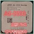 Для AMD A6 3500 интерфейс ПРОЦЕССОРА 905 triple-core иглы FM1 APU интегрированная графика рабочего процессора