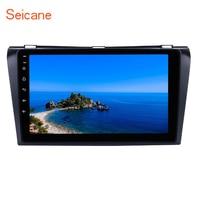 Seicane Android 7.1/8.1 9 inch 2Din Car Radio Stereo Quad core HD1080P Tochscreen Multimedia Player For 2004 2009 Mazda 3
