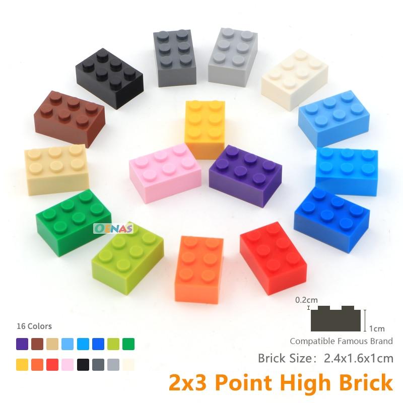 5 1x2X2 White Column Bricks ~ New Lego Parts ~ Space