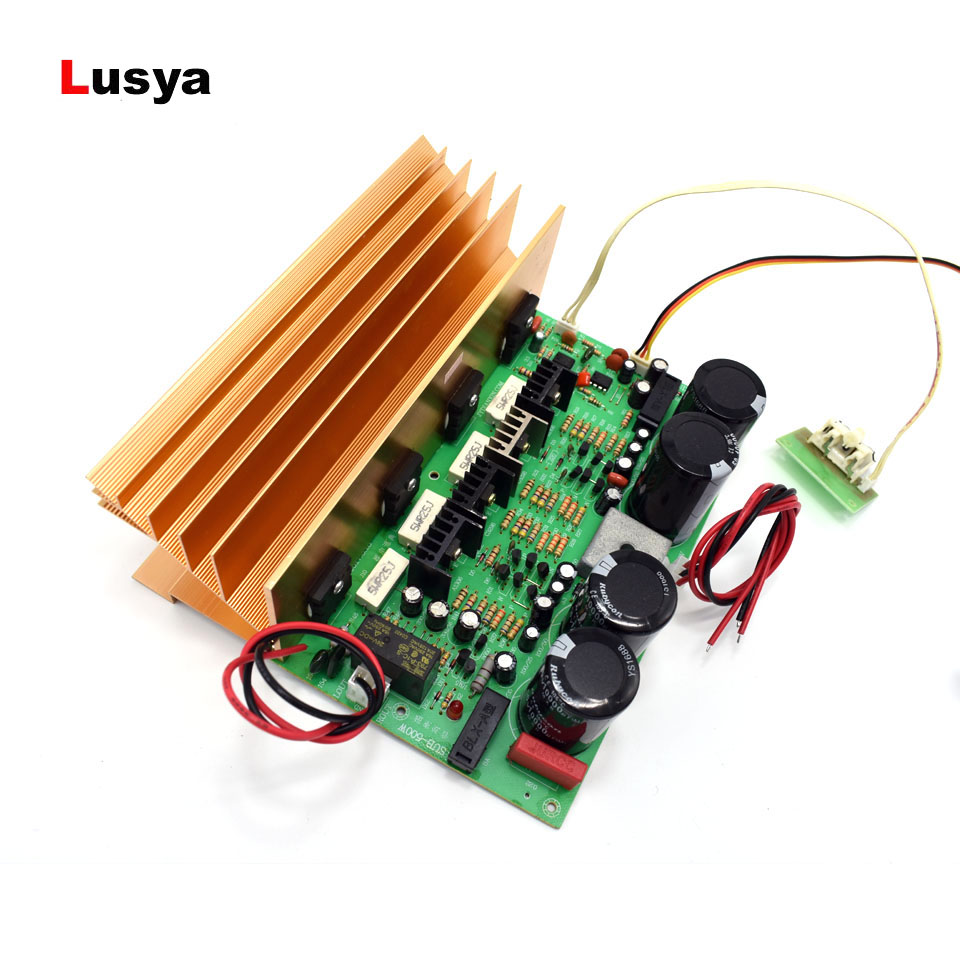 New 500W high power KTV subwoofer amplifier Pure bass BTL circuit super power amplifier board AC dual 24V T0093