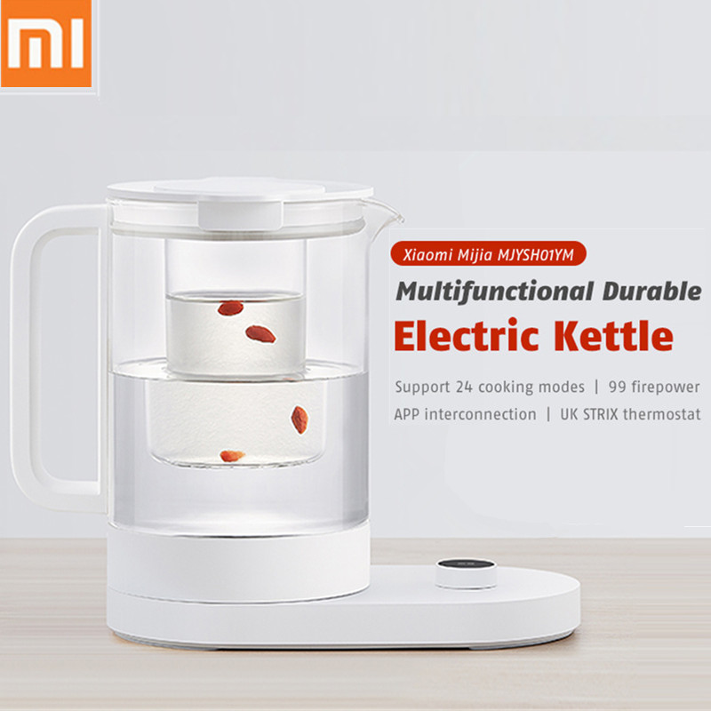 Original Xiaomi Mijia MJYSH01YM Multifunctional Durable Electric Kettle OLED Screen APP Remote Control Home Appliance Tea Kettle